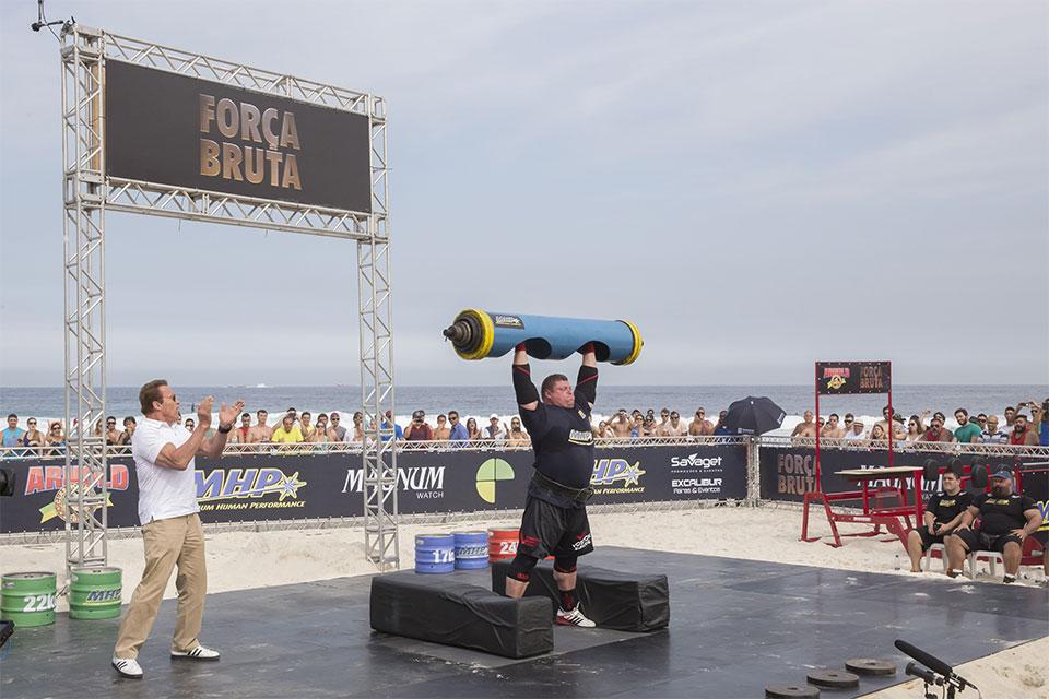 Strongman terá categoria amadora e profissional. Foto: Divulgação
