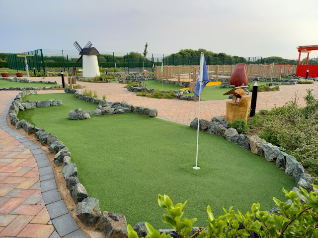 Adventure Golf at Fairhaven Lake in Lytham St Annes
