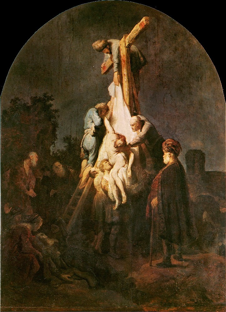 Pauca Verba: The Thirteenth Station ~ Jesus Is Taken Down ...
