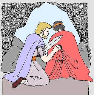 Davide e Saul