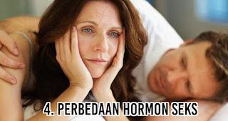 Perbedaan Hormon seks menjadi salah satu penyebab mengapa usia wanita lebih panjang daripada Pria