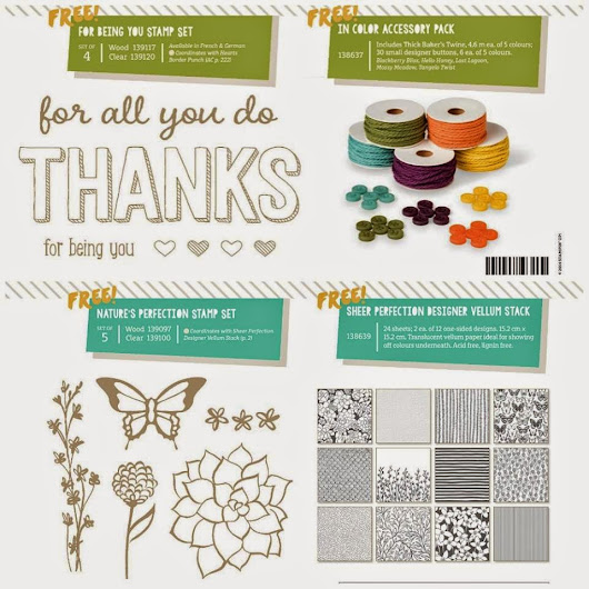 Stampin' Up! Sale-A-Bration Additional Products