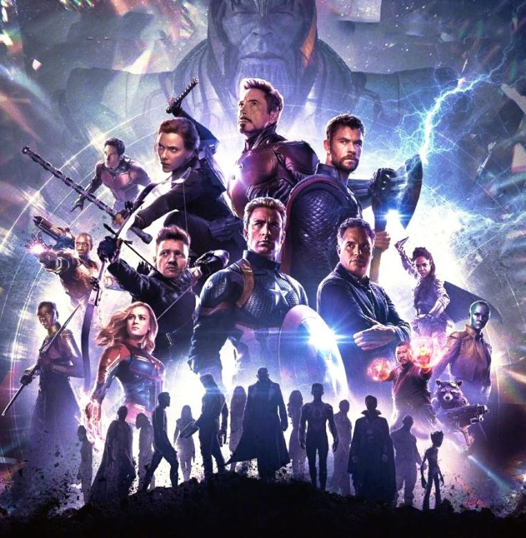 Noor Posts: Avengers Endgame Official Poster With Valkyrie