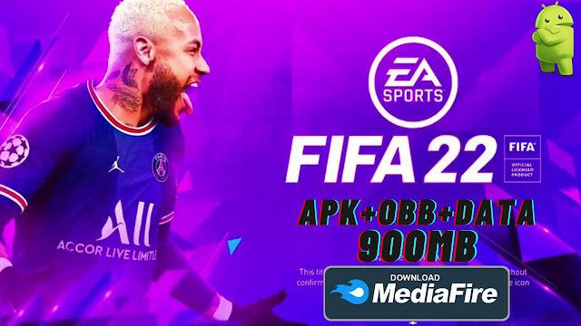 FIFA 22 Mod APK + OBB + DATA New Kits 2022 Download