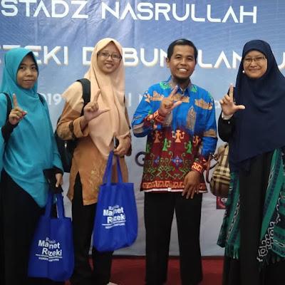 Solichen Ketua Pelaksana Seminar Magnet Rezeki di Lampung