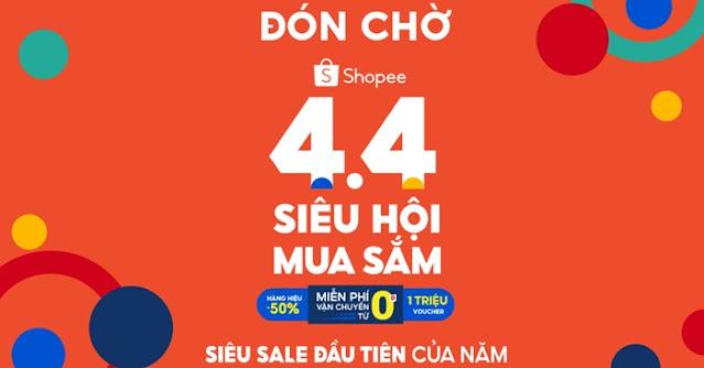 Sale Shopee 4.4 2021