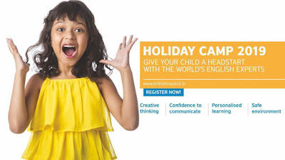 british council holiday camp 2019