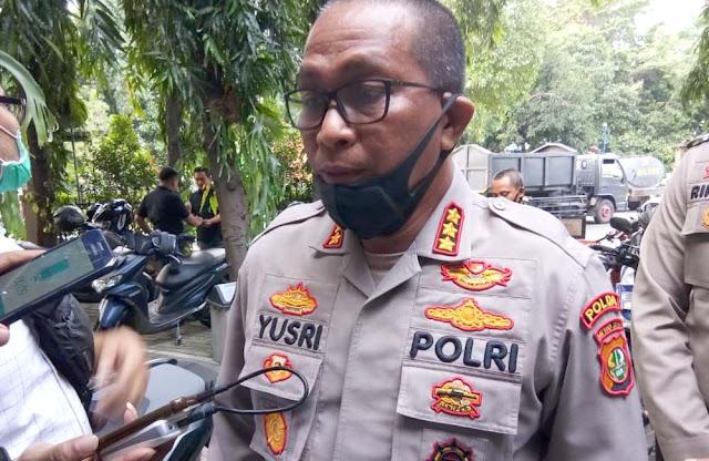 Polda Metro Ancam Pidanakan Pihak yang Bilang Laskar FPI Tak Punya Senjata Api