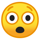 Astonished emoji