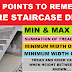 Basic Important Points to know before Stair Design