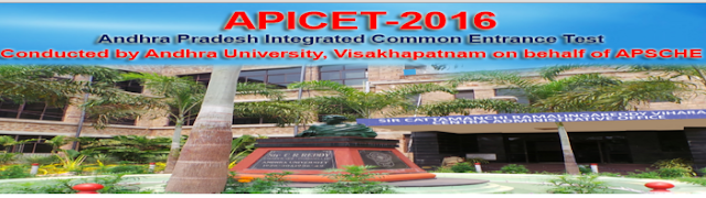 AP Icet 2016 on May 16 Exam Schedule released