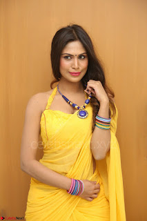 Nishigandha in Yellow backless Strapless Choli and Half Saree Spicy Pics 160.JPG