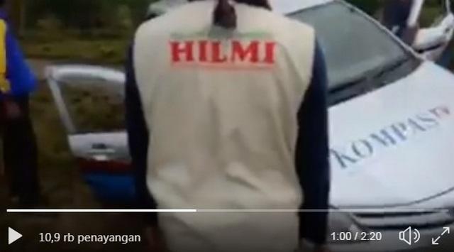 Menyisir Daerah Bencana Tsunami, Relawan FPI Bantu Mobil Kompas TV Yang Mogok