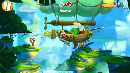 Angry Birds 2 Mod Apk gameplay