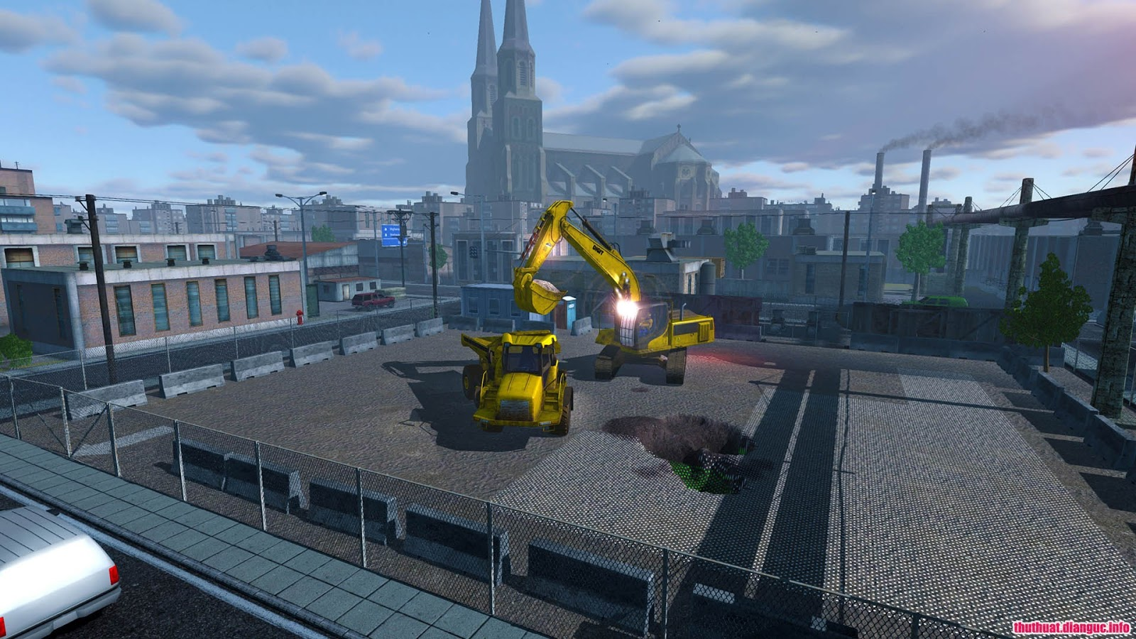 Game mô phỏng lái máy xúc