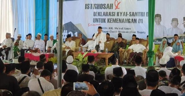 Pedas! Kiai Ma'ruf Sindir Prabowo Ambil Cawapres Bukan Hasil Ijtimak Ulama