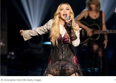 Madonna's coronavirus Instagram put up flagged, then removed, for sharing 'False Information'