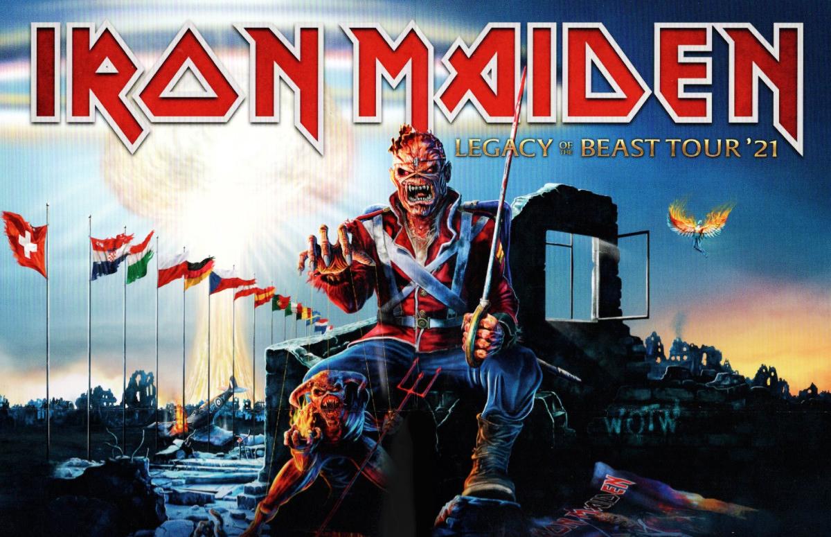 WOTW: pôster do Iron Maiden pode ter pistas sobre novo álbum da banda