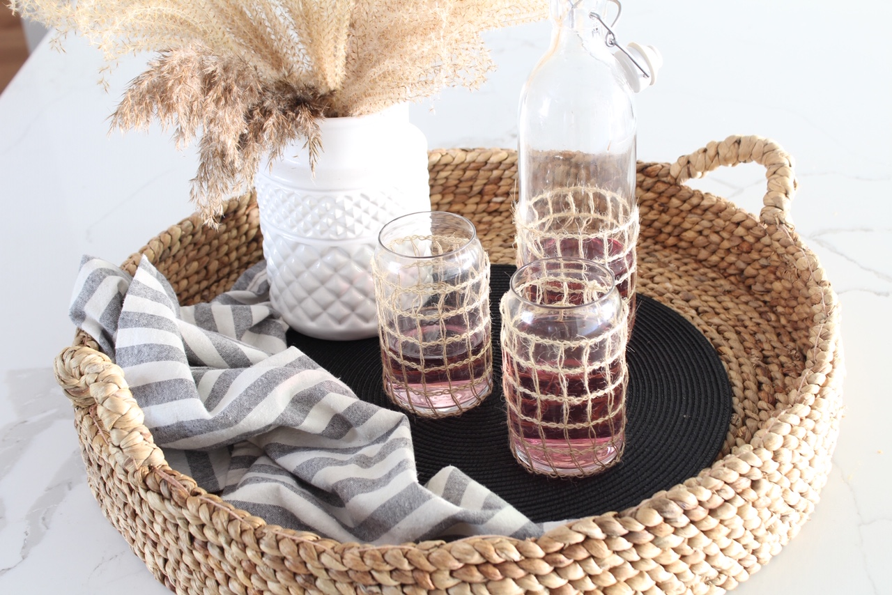 DIY-seagrass-wrapped-glasses-harlow-thistle-1