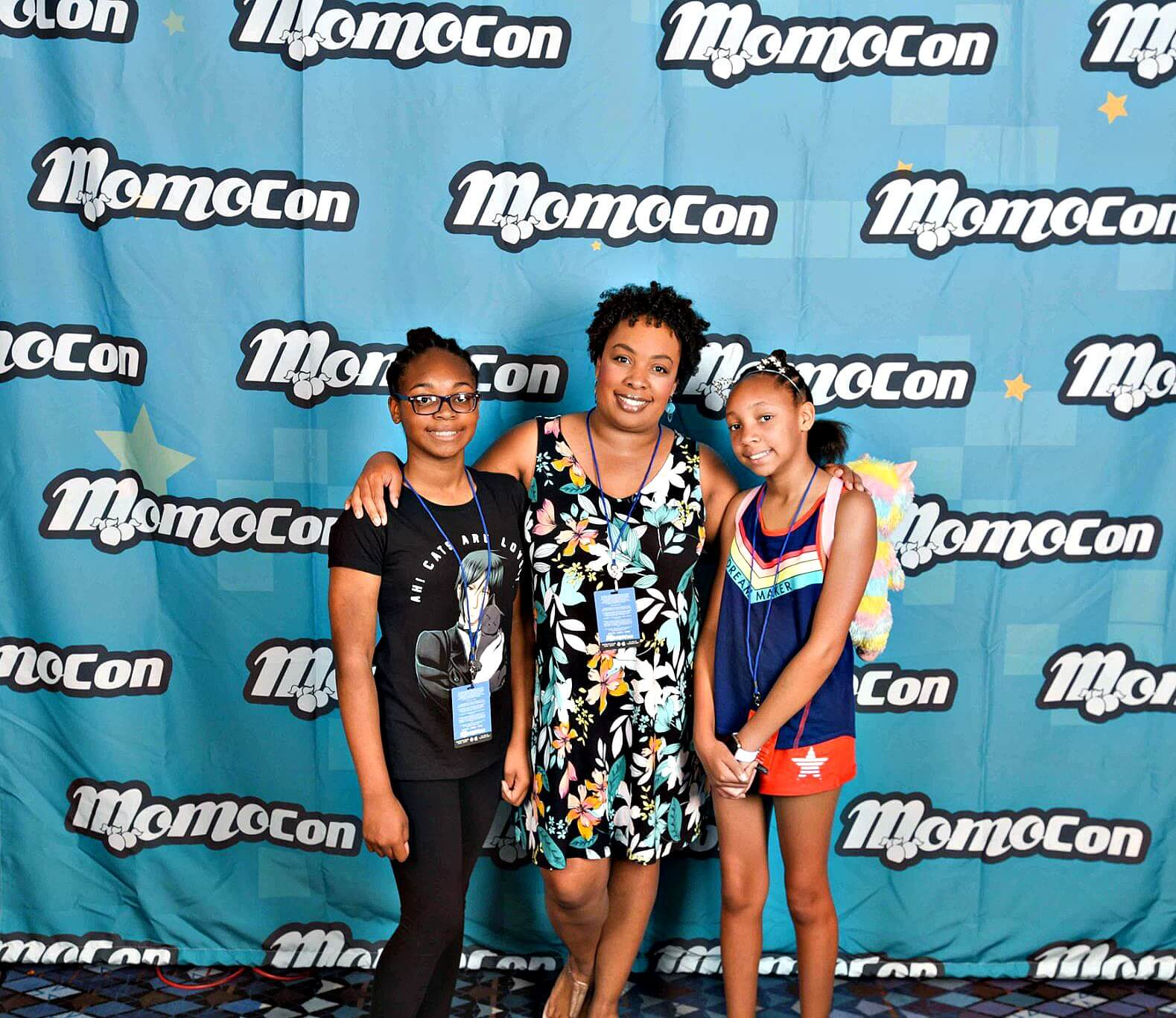 MomoCon Atlanta with Teen Daughters
