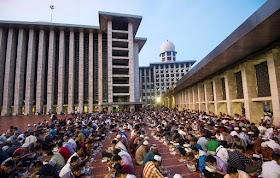 Salat Tarawih dan Buka Bersama di Masjid Istiqlal Resmi Ditiadakan