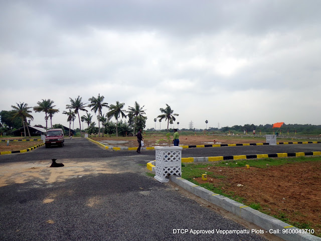 Veppampattu Plots - Sirukalathur - Punnapattu Village - Rs.555/- Per Sq.ft