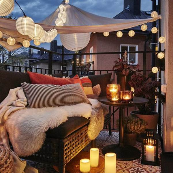 7 Ideas For Decorating Balconies or Terraces 16