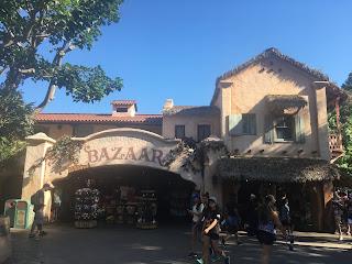 Adventureland Bazaar Exterior Disneyland