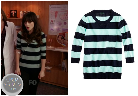 5eebf9111d It is the J Crew Tippi Sweater in Linen Stripe. You can buy it HERE for   79.50