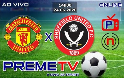 Manchester United x Sheffield Ao Vivo