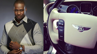 chris attoh birthday gift bentley car
