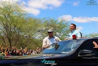 Bolsonaro participa da assinatura de concessão da Fiol em Tanhaçu