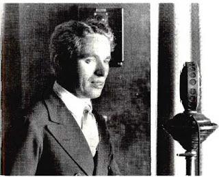 Первое выступление Чаплина по радио (1923) - 1