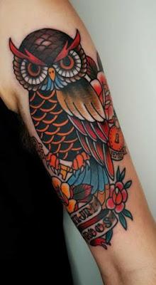 Cool Owl Tattoo Ideas for Women