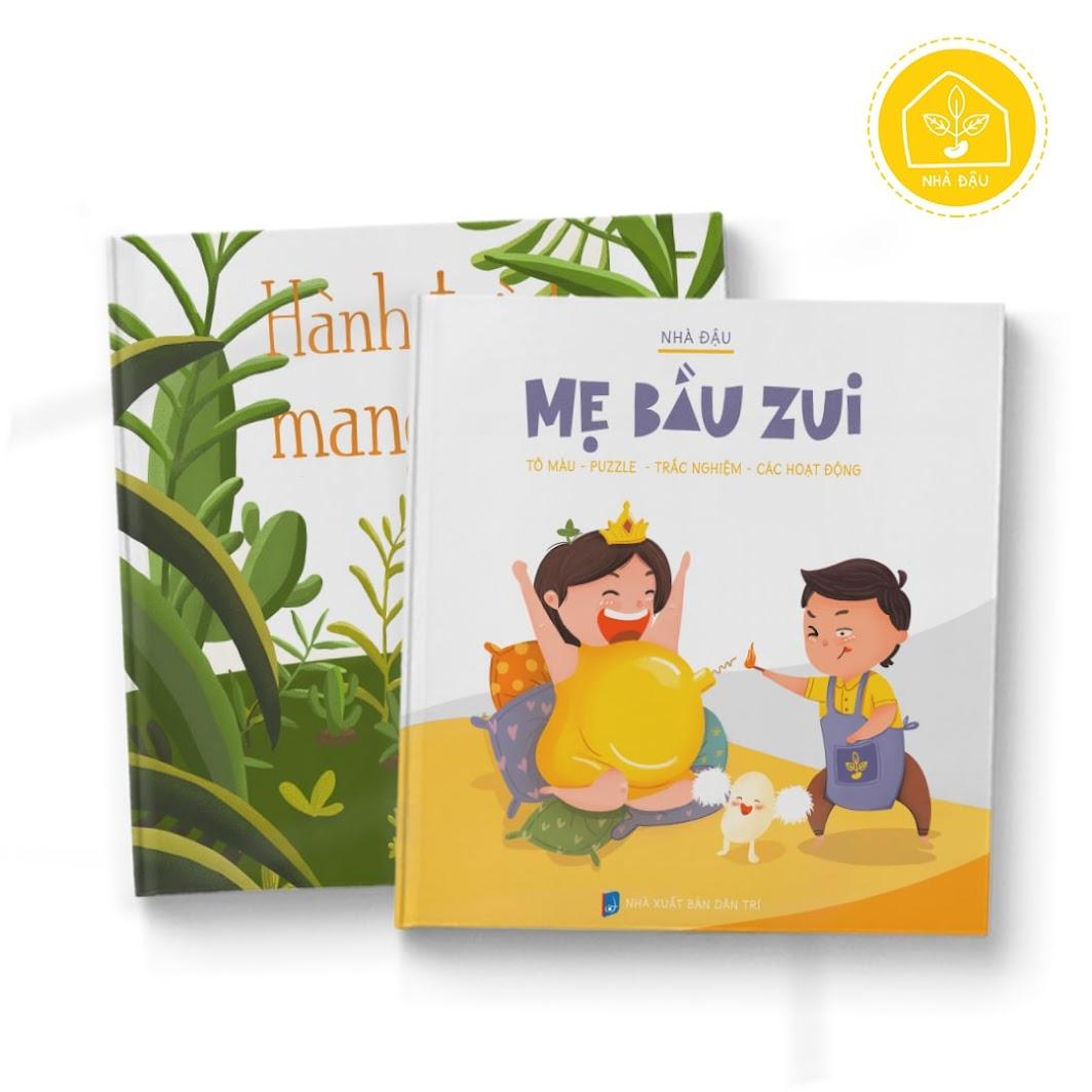 [A116] Sách tô màu đặc biệt cho Bà Bầu tiếng Việt