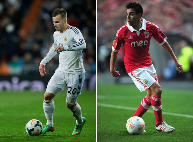Arsenal eye Jese Rodriguez and Nicolas Gaitan