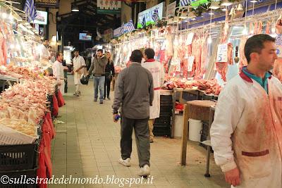 Il mercato alimentare atene