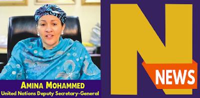 United Nations Deputy Secretary-General, Amina Mohammed,