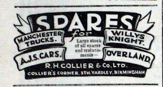 R H Collier & Co Ltd 1934 advert
