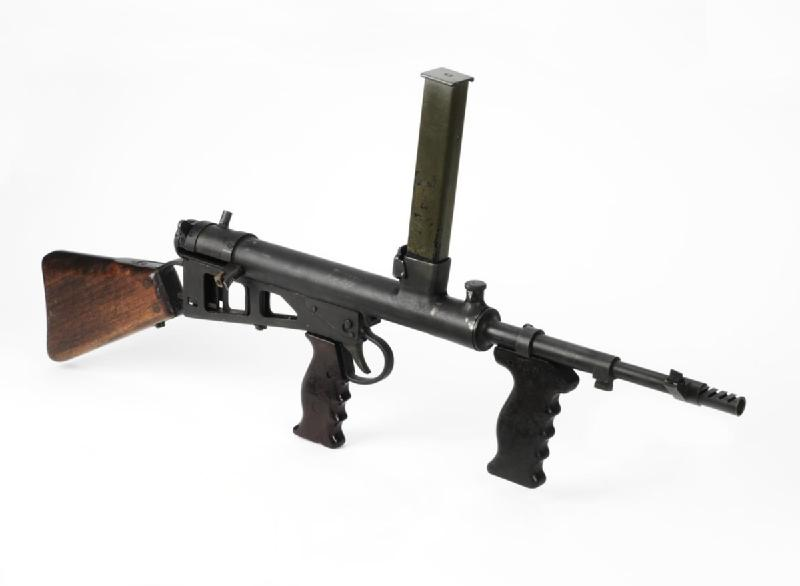 The Owen gun, old and heavy I know, but this one is a sentimental - firearm bill of sales