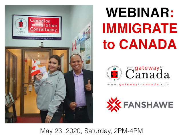 Immigrate to Canada Webinar with Fanshawe College | May 23, 2020