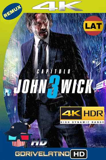 John Wick: Capítulo 3 – Parabellum (2019) BDRemux 4K HDR Latino-Ingles MKV