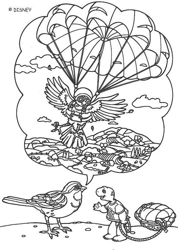 disegni da colorare: (i disegni del cartone animato di