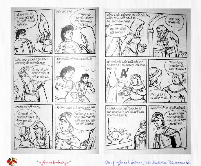 Dũng Sĩ Hesman tập 3 - mãng xà giả dạng trang 31