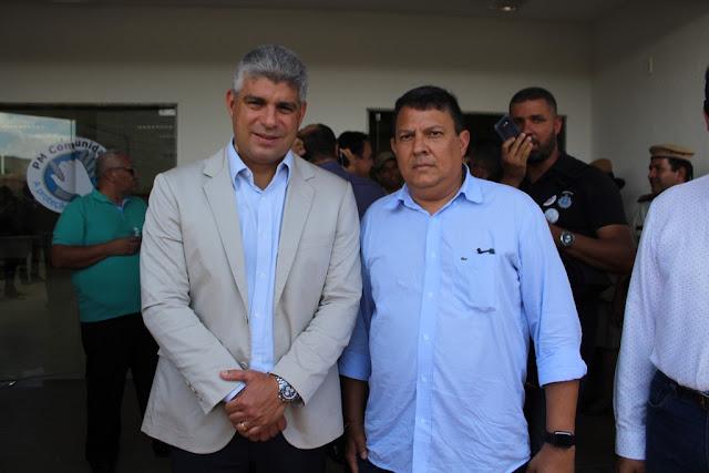 Atendendo indicação de Antonio Henrique Júnior, governo do estado inaugura Ronda  Maria da Penha em Barreiras