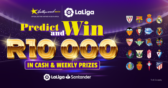 R10 000 In Cash & Weekly prizes