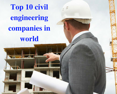 Civil Engineering Companies : Civil engineering