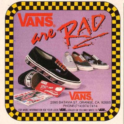 Vans Shoes Print Ads