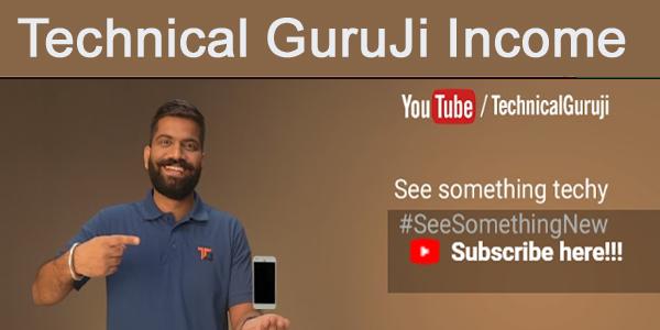 Technical Guruji YouTube Se Kitna Kamate Hai ? Income For YouTube Gaurav Chaudhary
