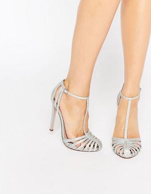 Zapatos de Fiesta Plateados comodos